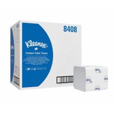 Туалетная бумага в пачках Kleenex Ultra, 200 листов, 13 х 19 х 9 см, 2 слоя, с синим логотипом (36 шт/упак), арт. 8408