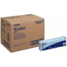 Салфетки в пачках с цветным кодированием Wypall Х80, 25 листов, лист 35х42 см, голубые, арт. 7565