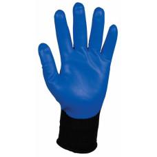 Перчатки с нитриловым покрытием многоразовые JACKSON SAFETY G40 Smooth Nitrile, размер 10, синий, арт. 13836