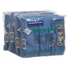 Салфетки из микрофибры Wypall Microfibre Cloth, 40 х 40 см, синие (6 шт/упак), арт. 8395