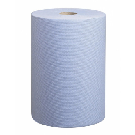 Бумажные полотенца в рулонах Scott Slimroll голубые однослойные (6 рулонов по 190 метров), арт. 6698, Kimberly-Clark