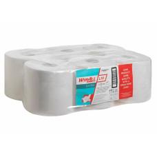 Салфетки в рулоне с центральной вытяжкой Wypall L10, 525 листов 38 х 18,5 см, 1 слой, белые, арт. 7495