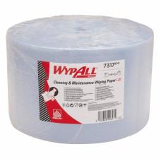 Салфетки в рулоне Wypall L30, 1000 листов 38 х 23,5 см, 2 слоя, арт. 7317