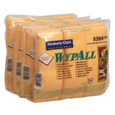 Салфетки из микрофибры Wypall Microfibre Cloth, 40 х 40 см, желтые (6 шт/упак), арт. 8394