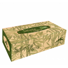 "Салфетки бумажные бамбуковые non-stop ""Бамбук"", 120 лист/уп,(24 уп/кор), арт. 469170"