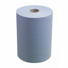 Бумага протирочная LIME 2-сл. 300 м. шир 24 см. синяя 2 шт./уп. арт. 24.300