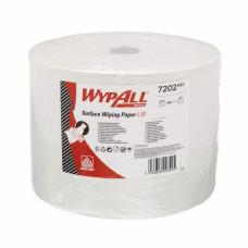 Протирочный материал в рулонах WypAll L10 однослойный белый (1 рулон 1000 листов), арт. 7202