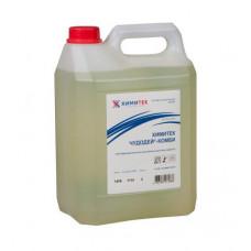 Химитек Чудодей-Комби 5 л,многофункциональное концентрированное жидкое низкопенное щелочное средство