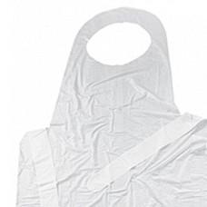 Фартук одноразовый 20 мкм, короткий,  (100 шт/упак), арт. 11131