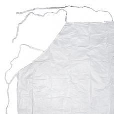 Фартук виниловый многоразовый 100 мкм, длинный,  (10 шт/упак), арт. 11132
