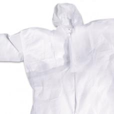 Комбинезон защитный одноразовый, закрытая молния, размер XL, шт., арт. 11136