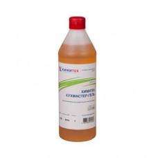 Химитек Кухмастер-Гель, 1 л, концентрированное жидкое пенное нейтральное средство для мытья посуды