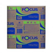 Салфетки для диспенсера FOCUS OPTIMUM, 250 листов, 1 слой, 24*18 см (18 шт/упак), арт.5051792