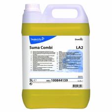 Suma Combi LA2/ Жидкий детергент с ополаскивателем 2в1 для воды с жесткостью до 5dH 5 л, арт. 100844159