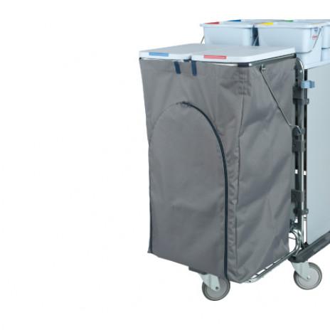 Чехол для мусорных мешков с молнией, для тележек Ориго, 120 л, арт. 514792, Vileda Professional