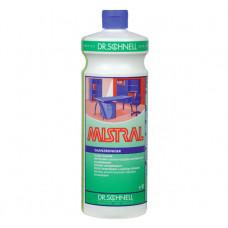 Слабощелочное средство для очистки глянцевых поверхностей MISTRAL Quick Dry, 1 л, арт. 529880