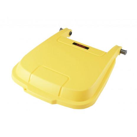 Крышка для контейнера Vileda Атлас 100 л, желтый, арт. 137768, Vileda Professional