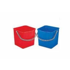Ведро для уборочной тележки, красный, 25л., арт. CYK 3327-R