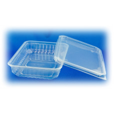 Контейнер для еды прямоугольный 750мл 179*132 ПП, ука (500 шт/упак)