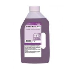 Suma Bac D10 Дезинфицирующее средство с моющим эффектом, 2 л, арт. 7519044