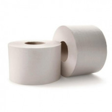 Туалетная бумага в рулонах 1-сл, 170м, серая 31г/м.кв.(151170-М)