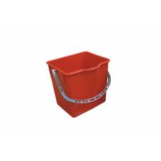 Ведро, 18 л, красный, арт. SK798-R