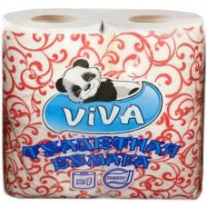 Туалетная бумага «Viva» (Вива) 4, 2-сл. Белая (20 шт/упак), арт. 3050