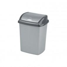 Корзина для мусора CURVER DOMINIK 25L мрамор / 182981, арт. 182981