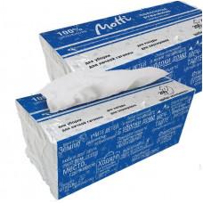 Универсальные полотенца Motti V-укладки в диспенсерной упаковке (с перфорацией), арт.263200