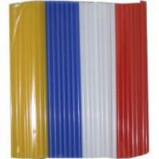 """Трубочки для коктейля прямые 8*240 """"МILK"""" цветной ПП, ука (250 шт/упак)"""