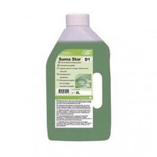 Suma Star D1 Средство для замачивания и ручного мытья посуды, 2 л, арт. 7509600