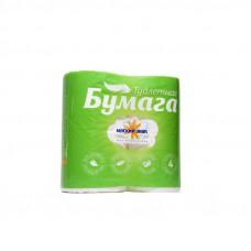 Туалетная бумага «Мягкий знак» 4шт., 2-сл. Белая С73, арт. 2383