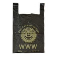 Пакет Майка 42*65 Винтаж, БМВ, ПВД 25мкм (100 шт/упак)