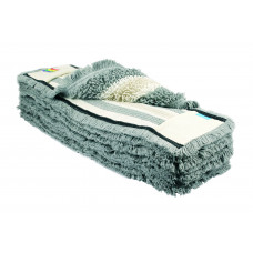 Моп петлевой комбинированный БЕСТ 50 см, серый (карман+язык), шт, арт. A-0596