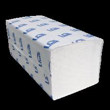 Полотенца в пач. Z-укл, 1-сл, 21,5*22,5см, шир.8см, 200шт, светло-серые 35г/м.кв. 20 упак/кор. (271185-М)