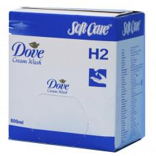 Жидкое мыло для рук Soft Care Line Dove, 800 мл (6 шт/упак), арт. 6961200