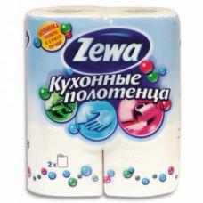 Полотенца бумажные «Zewa» 2-сл., 2шт., белые, арт. 1346