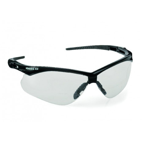 Защитные очки Jackson Safety V60 Nemesis RX, прозрачные диоптрические линзы +3.0, арт. 28630, Kimberly-Clark