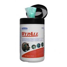 Влажные салфетки в малой тубе Wypall Cleaning Wipes, 50 листов 27х27 см, арт. 7772
