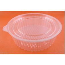 Контейнер для еды круглый 500 мл + крышка ИПК-500 ПС Протек (500 шт/упак)