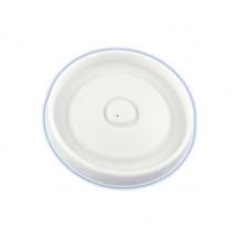 Крышка к чаше для мороженого/супа 500 мл белая (50 шт/упак)