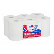 Полотенца бумажные в рулонах FOCUS Extra Quick, втулка 50 мм, 1 слой, 200 м (6 шт/упак) арт.5043330