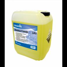 Suma Combi LA2 / Жидкий детергент с ополаскивателем 2в1 для воды с жесткостью до 5dH 20 л, арт. 100844158