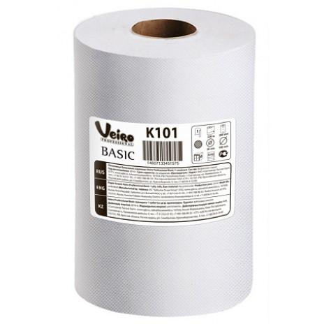 Полотенца для рук в рулонах Veiro Professional Basic, 180 м x 20 см, 1 слой (6 шт/упак), арт. 101 K, Veiro Professional