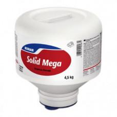 Твердое моющее средство Solid Mega для посудомоечных машин для воды средней жесткости, 4 х 4,5 кг, арт. 9081450