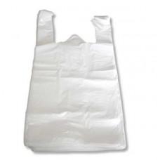 Пакет Майка 28*52 белый ПНД 14 мкм, ука (100 шт/упак)