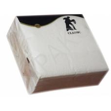 Салфетки 100л. 24*24 см., Брянск 1 сл., белые STYLE CLASSIC (50 шт/упак), арт. 2086