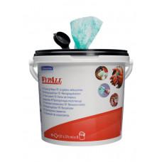 Влажные салфетки в ведре Wypall Cleaning Wipes, 90 листов 27х27 см, арт. 7775