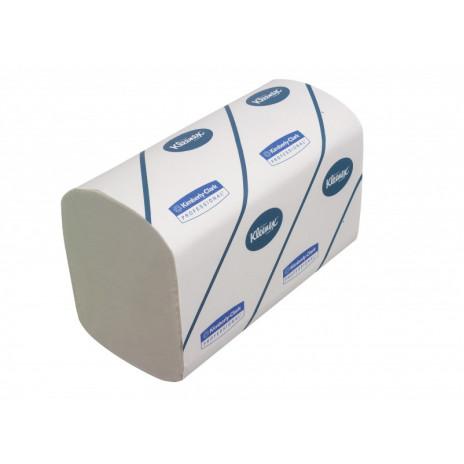 Полотенца для рук в пачках Kleenex Super Soft Airflex®, 96 листов, 22 х 32 см, 3 слоя (V / ZZ-сложение) (30 шт/упак), арт. 6771, Kimberly-Clark