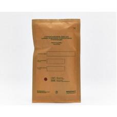 Пакет (крафт) для стерилизации паром, сухим горячим воздухом, оксидом этилена бумажный, самоклеящийся плоский ПБСП-СтериМаг 100*200 (100шт/уп)